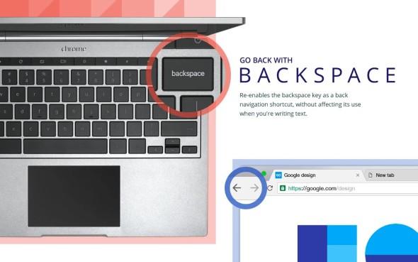 שובו של ה-Backspace: גוגל משיקה תוסף לכרום שמחזיר את המקש