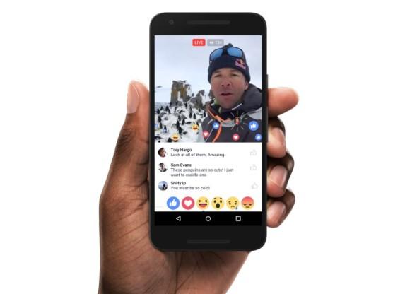 שירות Facebook Live מתרחב ומשתדרג