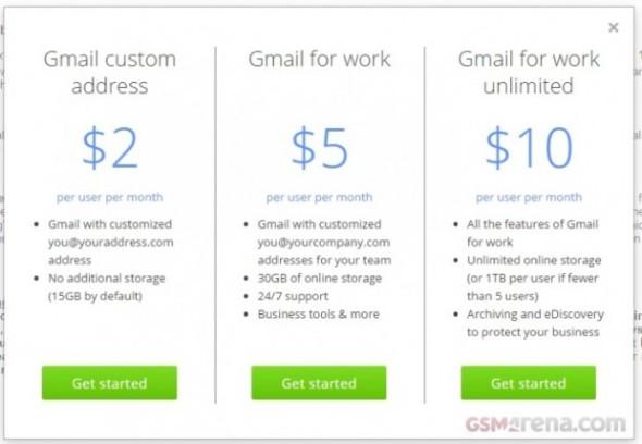 בקרוב ב-Gmail: כתובת דואר אישית בעלות חודשית עבור משתמשים פרטיים